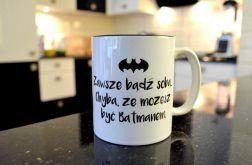 KUBEK BATMAN z CZARNYM WNĘTRZEM 1