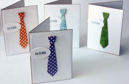 Kartka z krawatem dla dziadka