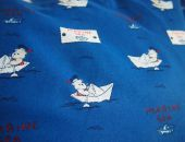 poduszka z misiami na łódce