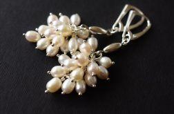 Kolczyki perłowe grona