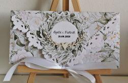 Kartka ślubna kopertowa kopertówka Grace I personalizowana