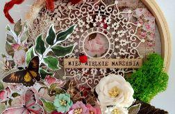 tamborek dekoracyjny z mandalą