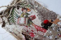 Boże Narodzenie, świąteczna, rustic