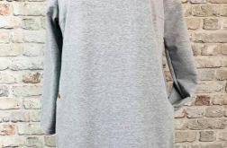 Tunika dres + sweterek rozm. 46