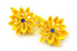 żółte spinki
