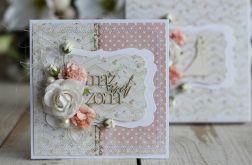 Kartka ślubna z personalizacją i pudełko 1
