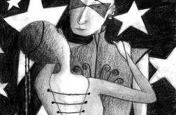 Taniec - oryginalny rysunek 9902