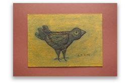 Ptaszek 21 - rysunek dekoracyjny