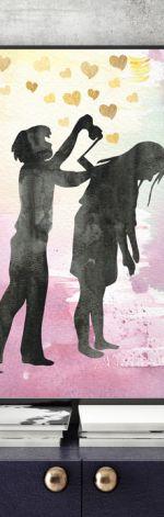 Paprocie... ilustracja A4