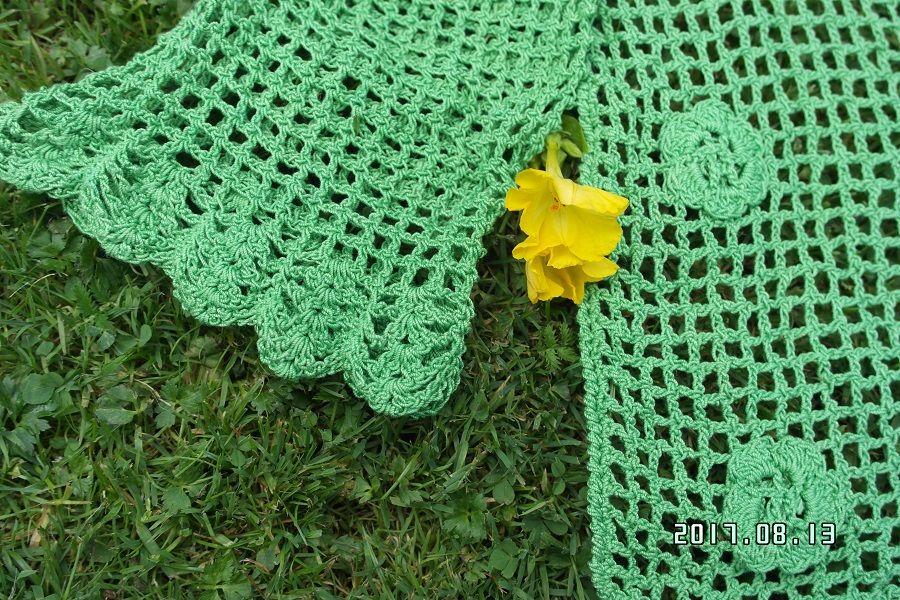 zielone wdzianko