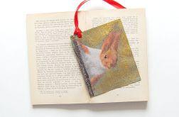 Zakładka do książki z wiewiórką - nr4