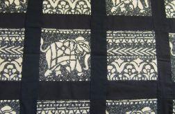 narzuta patchwork słonie