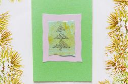 Kartka świąteczna minimalizm 28
