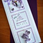 Kartka okolicznościowa ślubna -