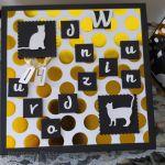 Kartka urodzinowa dla nastolatki fanki kotów - Pudełko na kartkę