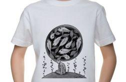 Ryby - t-shirt 2-14 lat (różne kolory)