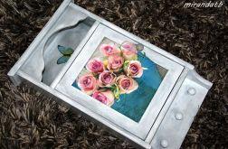 Szafka klucze różany bukiet