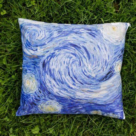 Poduszka - Gwiaździsta noc, van Gogh