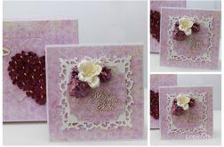 Ślub - pudełko z kartką 1