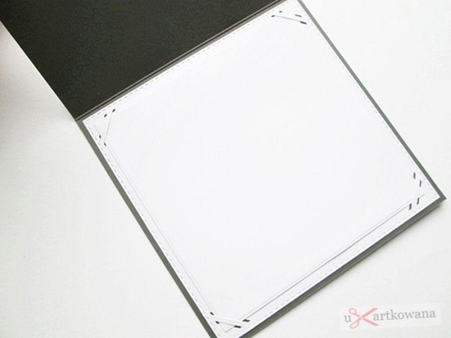 Kartka URODZINOWA beżowo-szare kwiaty - Minimalistyczna kartka urodzinowa w beżu i szarości