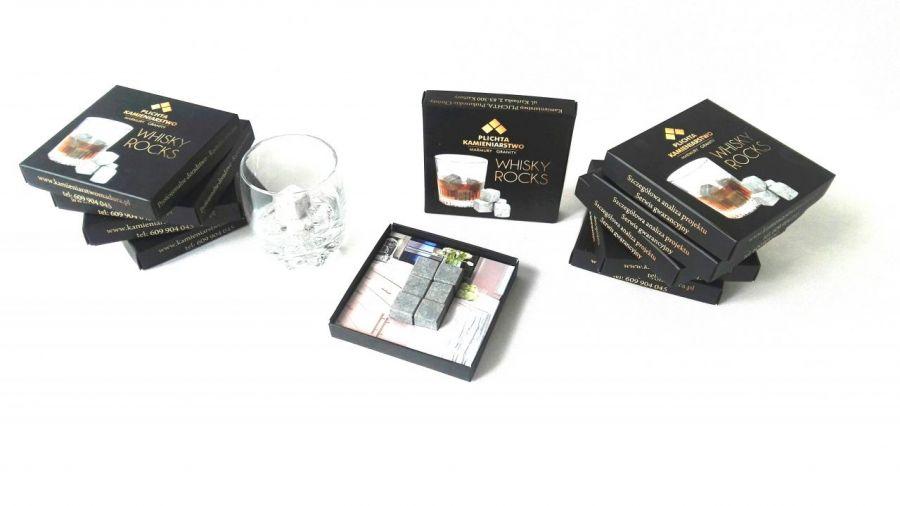 Whisky Stones pudełko - możliwość personalizacji pudełka