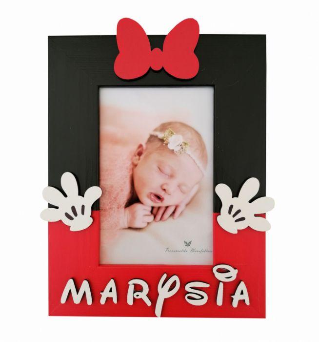 Ramka na zdjęcia z imieniem- MmC19 - ramka z imieniem prezent dla dziewczynki