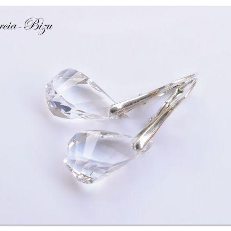 Kolczyki Swarovski Elements Helix Crystal