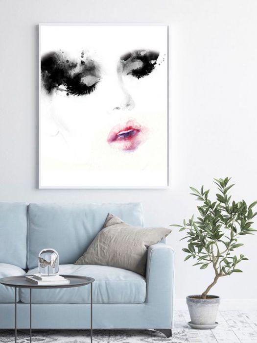 Plakat Nowoczesny Kobieta 01 - Plakat Nowoczesny Kobieta 01
