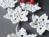 Śnieżynki na choinkę