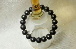 50. Bransoleta z pereł szklanych 10mm