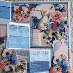 Kartka z kotkami - Prawy róg