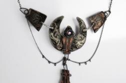 Świtezianka - naszyjnik w gotyckim stylu