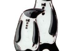 Pingwin ze szkła fusing