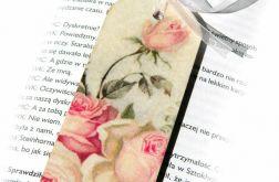 Zakładka - Róże w klimacie vintage