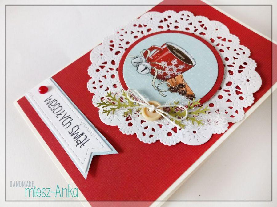 Wyjątkowe KARTKI ŚWIĄTECZNE - 3 - Boże Narodzenie, bożonarodzeniowe, święta