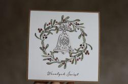 Kartka bożonarodzeniowa handmade