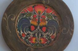 Folkowy talerz