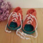 Sandałki sznurowane 10cm - buciki