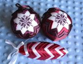 Karczochy fioletowe z haftem