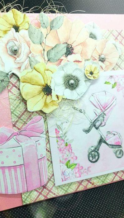 Kartka z okazji urodzenia się dziecka #1 Kartka z gratulacjami  - 3