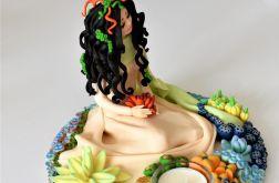 Rzeźba surrealistyczna - świecznik
