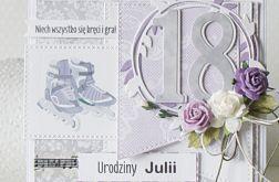 Personalizowana kartka urodzinowa dla 18-tki