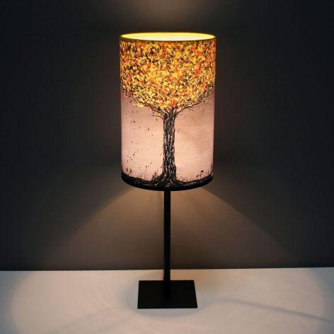 Lampa żÓŁTODRZEW, abażur + podstawa