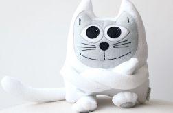 Przytulanka Kotek Polarny,