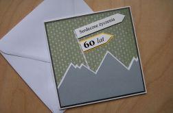 Kartka urodzinowa na 60 te urodziny