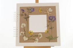 Album na zdjęcia z kwiatami polnymi