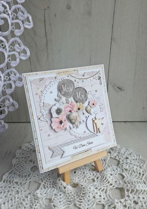 Kartka ślubna z kopertą Marry Me