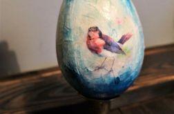 Jajko, jajo, pisanka wielkanocna ptaszki