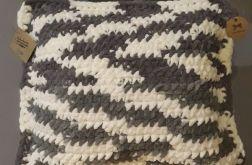 Poduszka pluszowa rękodzieło handmade