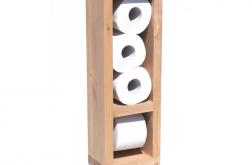 Wieszak stojak papier toaletowy drewno TANGLE
